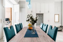 lakás átalakítása, felújítása - étkező
