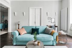 lakás átalakítása, felújítása - nappali