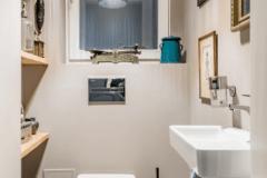 lakás átalakítása, felújítása - wc